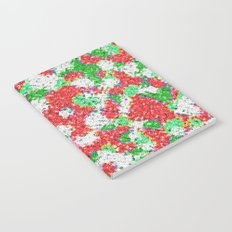 Green & Red Notebook