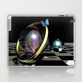 Dark night magic, 3D fantasy art Laptop & iPad Skin