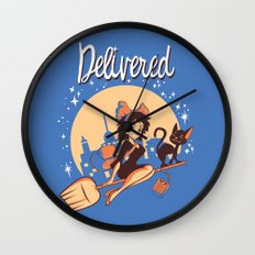 Delivered Wall Clock