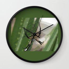 Orb Spider 2 Wall Clock