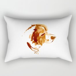 "in loving memories ""Roti"" Rectangular Pillow"