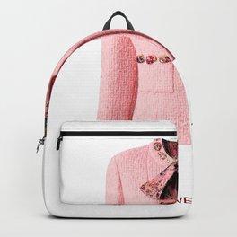 coco vintage pink suit jacke Backpack