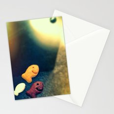 Swim towards the light little fishies. Stationery Cards