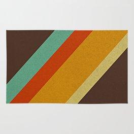 Retro 70s Color Palette Rug