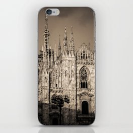 Duomo of Milan, Cathedral in the center of Milan iPhone Skin