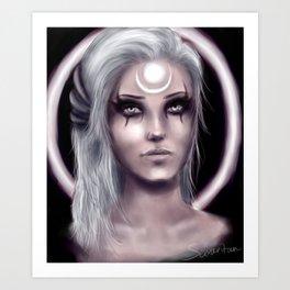 Scorn of the Moon Art Print