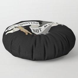 Monster Lover Floor Pillow