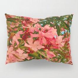 Oleander Flowers Pillow Sham