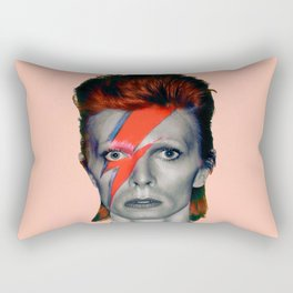 pinky bowie3 Rectangular Pillow