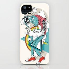 Freewheelin Hipsta iPhone Case