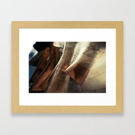 Experience Music Project + Gold Framed Art Print