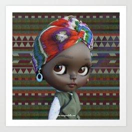 JANET BLYTHE DOLL BY ERREGIRO Art Print