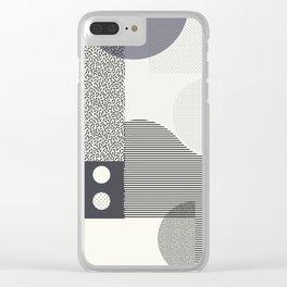 Memphis Clear iPhone Case