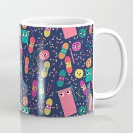 yarn party people blue Coffee Mug