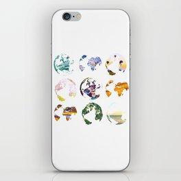 Globes iPhone Skin
