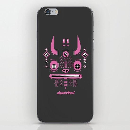 Super Beast iPhone & iPod Skin