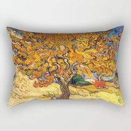 The Mulberry Tree by Vincent van Gogh Rectangular Pillow