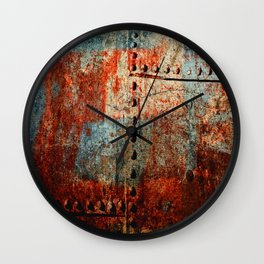 Synthetic Leather Wall Clock