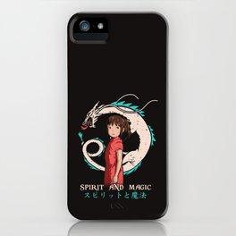 Spirit and Magic iPhone Case
