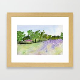 Father's Meadow Framed Art Print