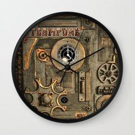 Steampunk Mechanism Wall Clock