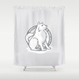Adopt A Dire Wolf Shower Curtain