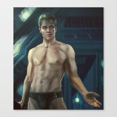Star Trek: James T. Kirk Canvas Print