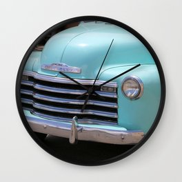 A Vintage Chevrolet Truck Wall Clock