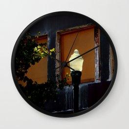 Solar Lighting Wall Clock