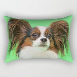 Papillon -Continental Toy Spaniel Rectangular Pillow