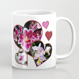 Hearts and Orchids Coffee Mug