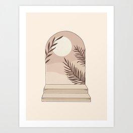 Mediterranean Sun Art Print