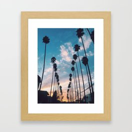 Palm trees! Framed Art Print