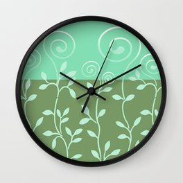 VINEIRI | moss aqua Wall Clock