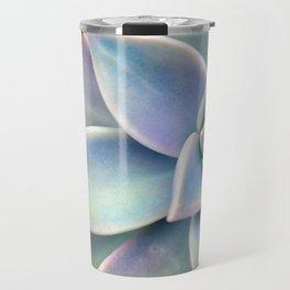 Pastel Succulent Travel Mug