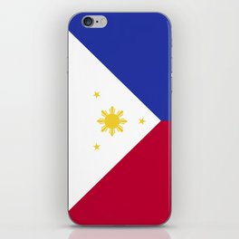 Philippines flag emblem iPhone Skin