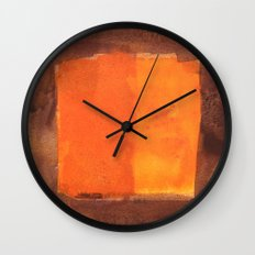 color abstract 6 Wall Clock