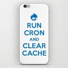 Run Cron and Clear Cache iPhone & iPod Skin