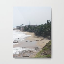 Untouched African Sands Metal Print
