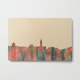Kingston Upon Hull, England, UK skyline - Navaho Metal Print