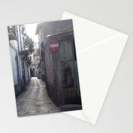 green corner rust Stationery Cards