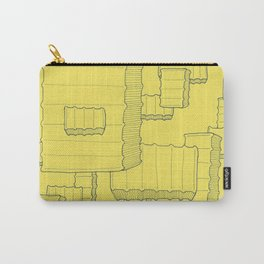 Fry Pattern - maize Carry-All Pouch