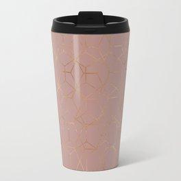 geometric iv x ii Travel Mug