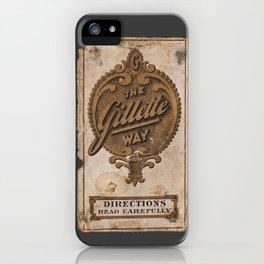 old razor ad iPhone Case