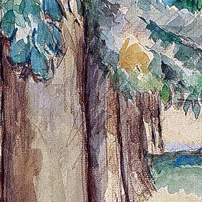 1893 - Paul Cezanne - Avenue of Chestnut Trees at the Jas de Bouffan Leggings