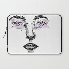 Purple Glasses Laptop Sleeve