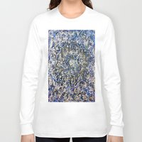abyss Long Sleeve T-shirts featuring EMERALD ABYSS by Glint & Lime Art