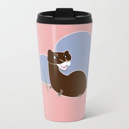 Save The European Mink! (FIEB) Travel Mug