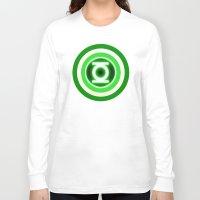lantern Long Sleeve T-shirts featuring American Lantern by Rachcox