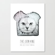 The lion king Canvas Print